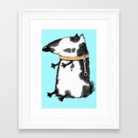 dog Framed Art Prints featuring DOG by Кaterina Кalinich