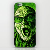 scream iPhone & iPod Skins featuring SCREAM! by Silvio Ledbetter