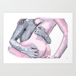 Rough Lover Art Print