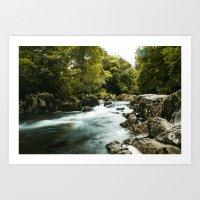 Afon Llugwy Stream Art Print