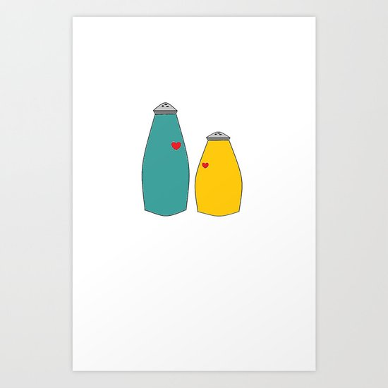 Salt and Pepper Art Print