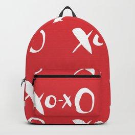 Kisses xoxo Poppy Red Backpack