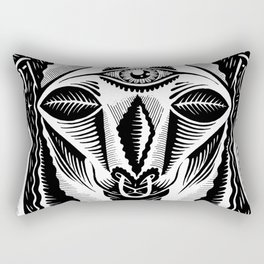 Llama King Rectangular Pillow