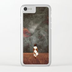 Follow Me Clear iPhone Case