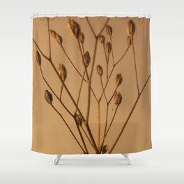 Florales · plant end 3 Shower Curtain