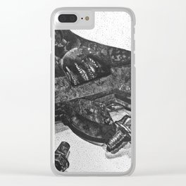 a few loose screws Clear iPhone Case