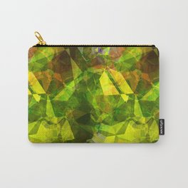 Cactus Garden Abstract Polygons 1 Carry-All Pouch