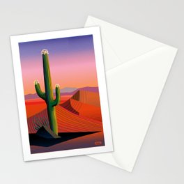 Saguaro Blossoms Stationery Cards