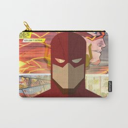 The Flash , fastest Man Alive Carry-All Pouch