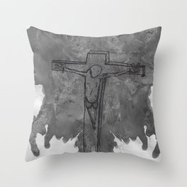 Jenna Christi Throw Pillow