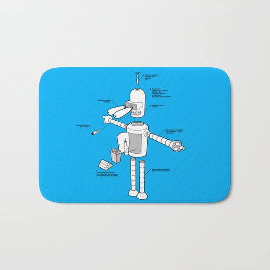 Bender Bath Mat