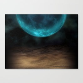 Planetary Visions Canvas Print