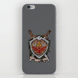 The shield 2 iPhone Skin