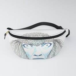 Weird poodles - don't worry, be happy Fanny Pack
