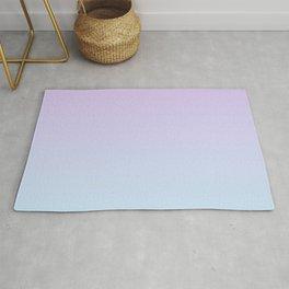 Pastel Ultra Violet Mint Gradient Rug