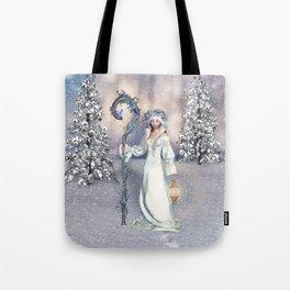 Awakening Winter Tote Bag