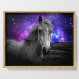 Horse Rides & Galaxy Skies Serving Tray