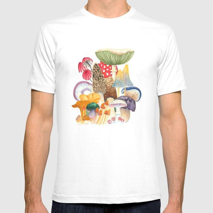 Woodland Mushroom Society T-shirt