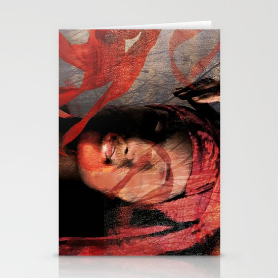mental repose Stationery Cards