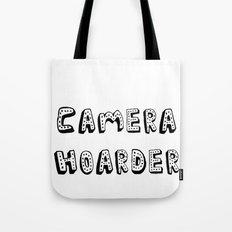 Camera Hoarder Tote Bag