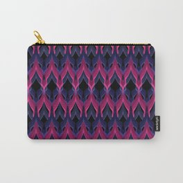 Purple raspberry zigzag . Carry-All Pouch