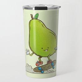 The Pear Skater Travel Mug