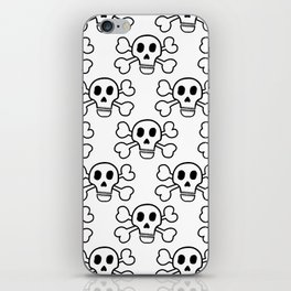 Skull and Crossbones iPhone Skin