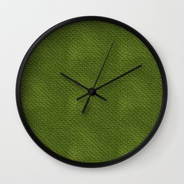 Crocodile Skin Pattern Wall Clock