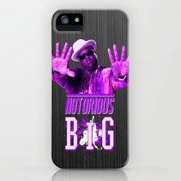 Notorious Big iPhone Case