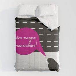 Guten morgen sonnenschein! Comforters