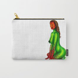 Demon Alien Chick Carry-All Pouch