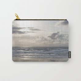 Silver Scene Carry-All Pouch