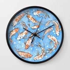Don't Be Koi Wall Clock