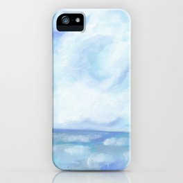 Warm Fall Days - Tropical Ocean Seascape iPhone Case