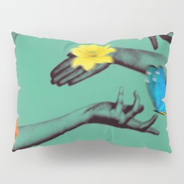 Jewels in Teal Pillow Sham