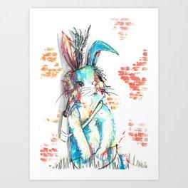Bunny, James Bunny, 007 Art Print