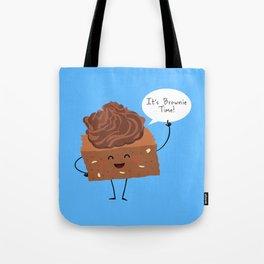 BROWNIE TIME (Blue version) Tote Bag