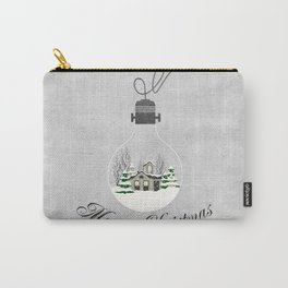 Christmas Greetings Carry-All Pouch