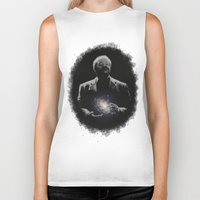 milky way Biker Tanks featuring Cosmos - Milky Way by mycolour