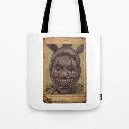 Twisty The Clown Tote Bag