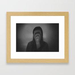 Faceless Framed Art Print