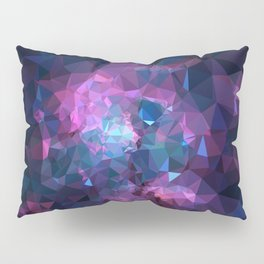 Galaxy Low Poly 45 Pillow Sham