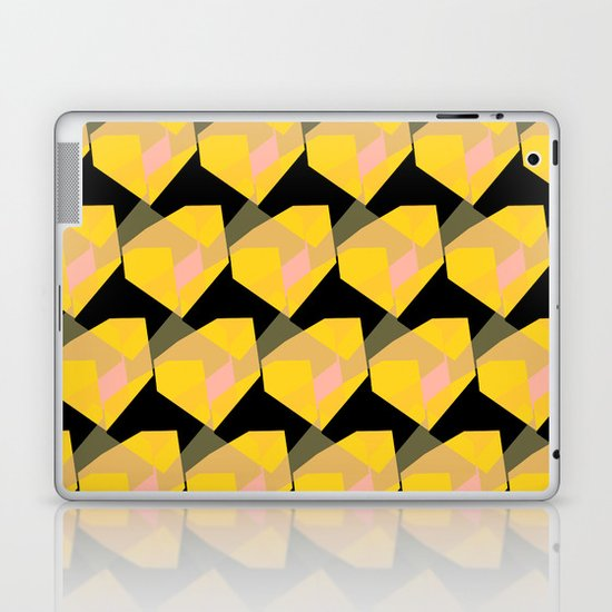 Yellow & Black Laptop & iPad Skin