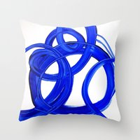 matisse Throw Pillows featuring MATiSSE by Linnea Heide