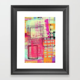 two and more Framed Art Print