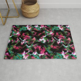 """""""Watercolor glamour """".  """"Watermelon  juice"""" . Rug"""