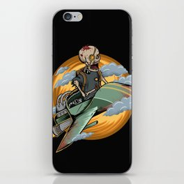 Skull air iPhone Skin