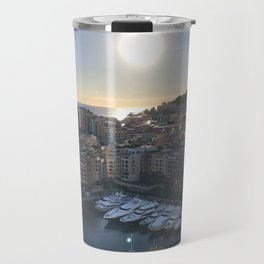 Monaco Sunset Travel Mug