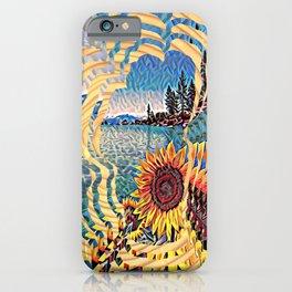 Tahoe Sunburst iPhone Case