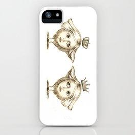 Siamese Queens iPhone Case